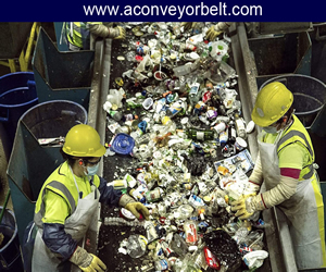 Conveyor Belt Used In Recycling, Manufacturer of Conveyor Belts For Recycling